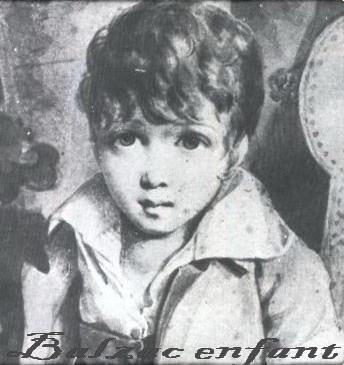 BALZAC enfant